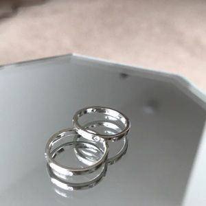 Jewelry - White Gold and Diamond Rings